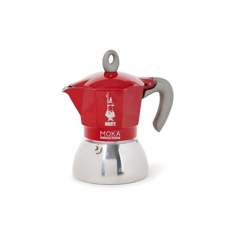 Bialetti - Moka Inductie - Red - 4 Cups