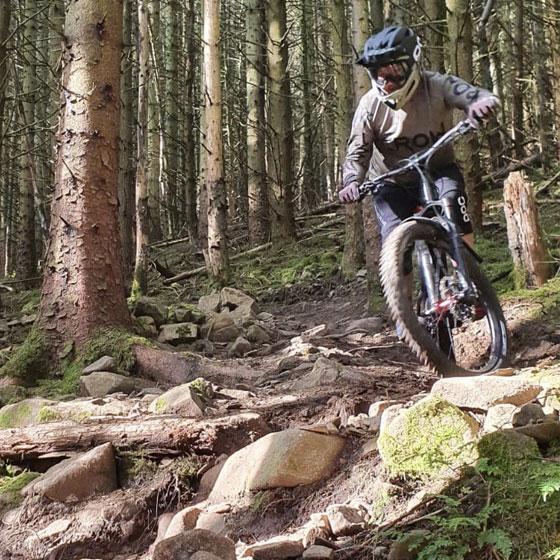 Piers Rickard Crow Mountain Biking