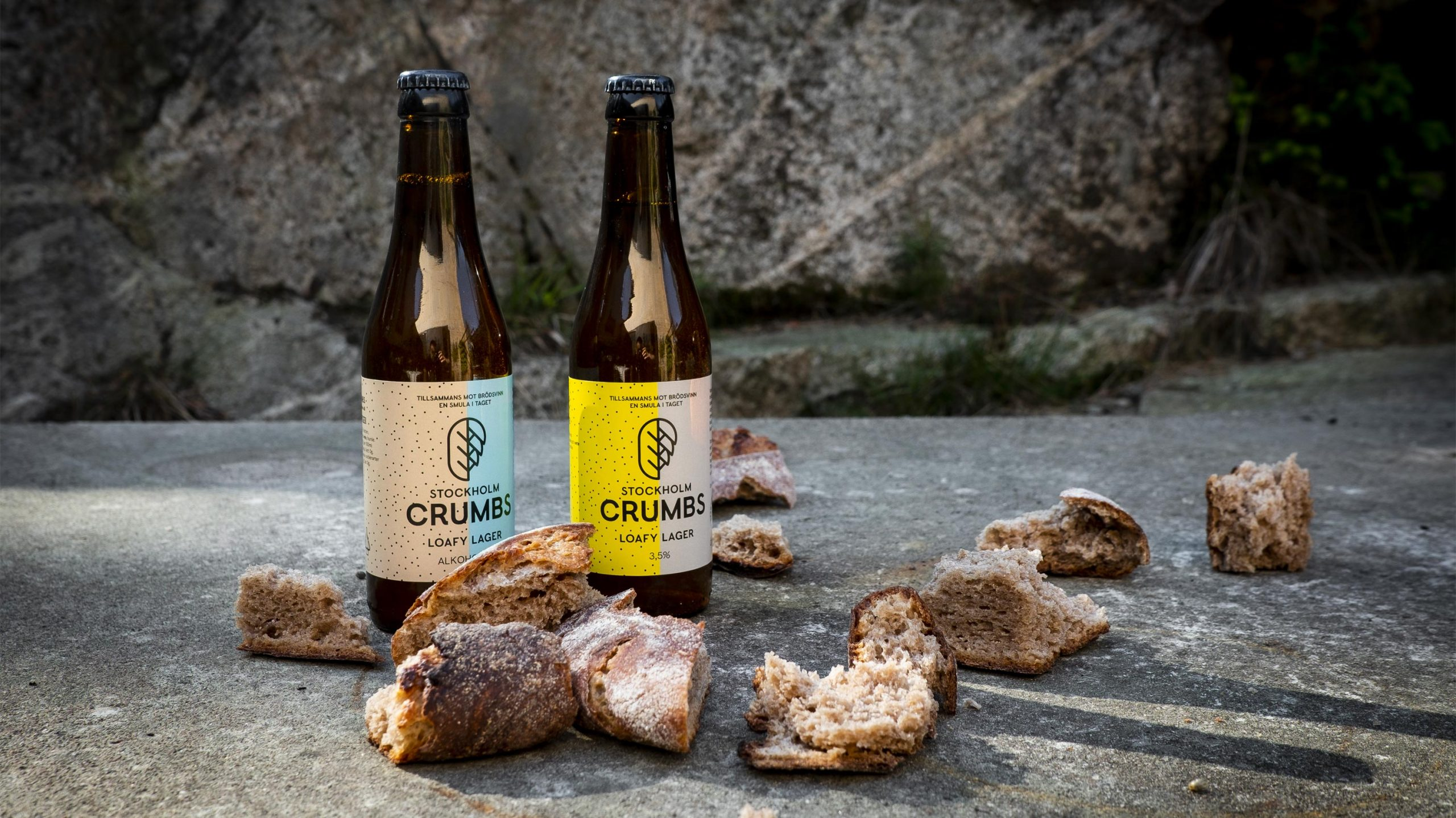 Crumbs loafy lager