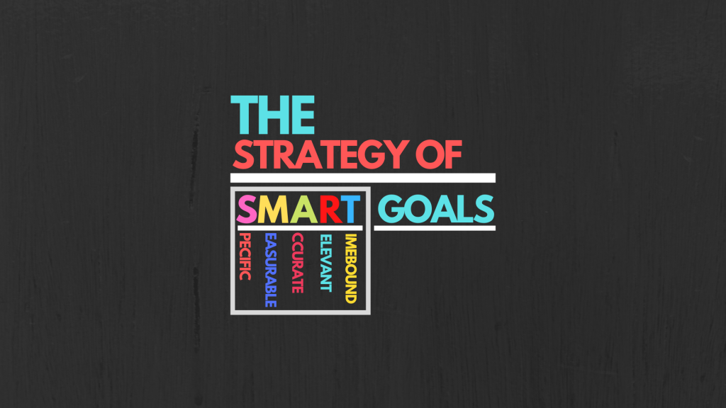 The Strategy Of SMART Goals