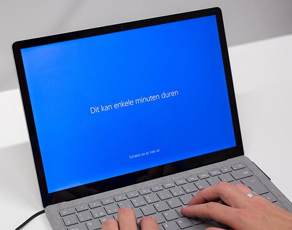 Laptop (her) installeren CTHB