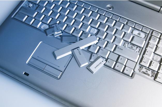 kapot laptop toetsenbord repareren CTHB