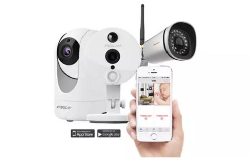 slimme beveiligingscamera's CTHB
