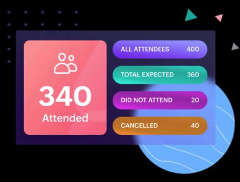Track event attendance