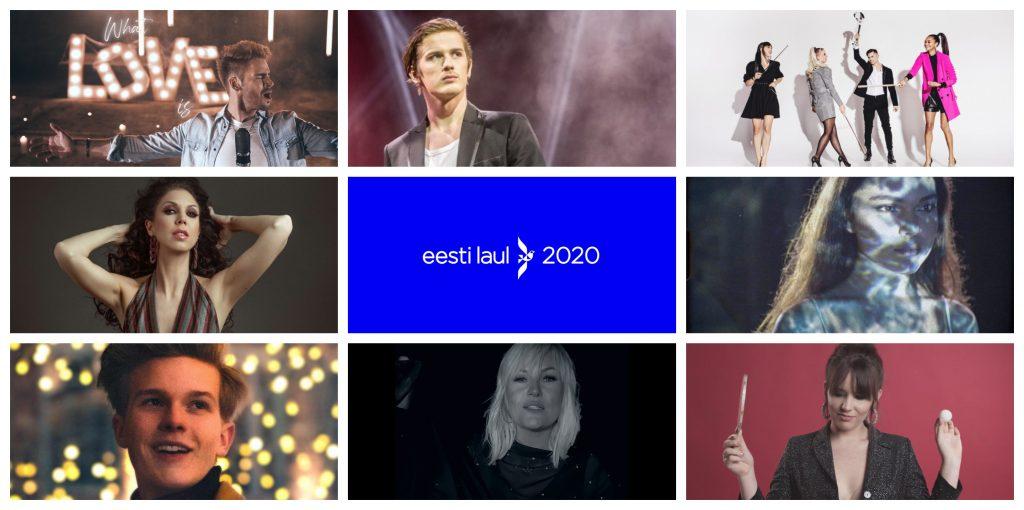 Eurovision: Meet Estonia's Eesti Laul 2020 Competitors