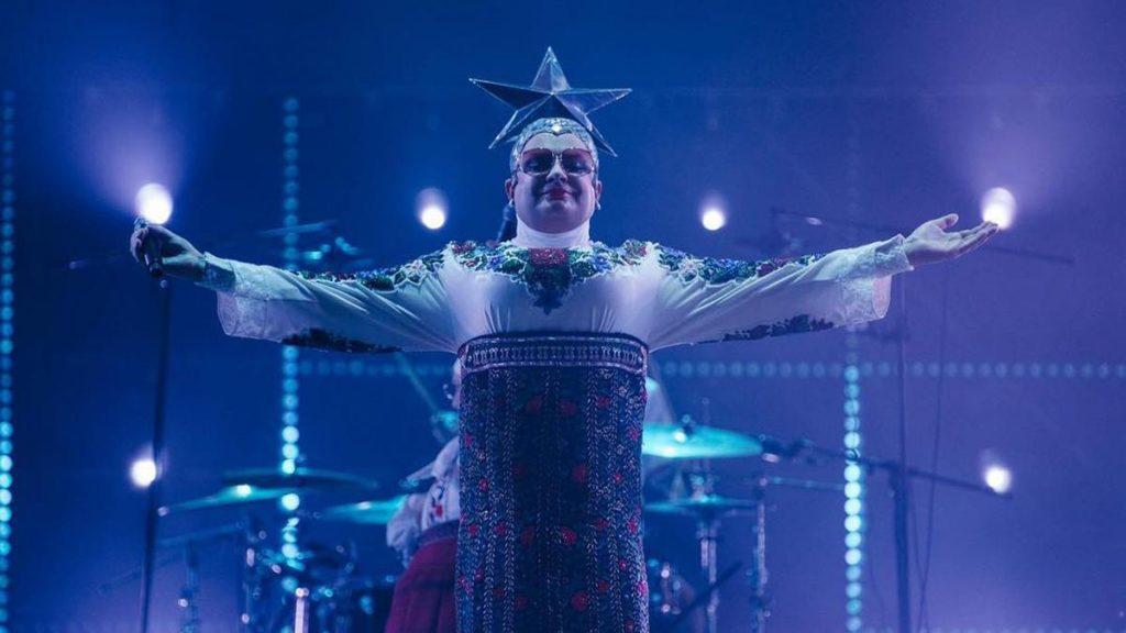 "Eurovision: Ukrainian Icon Verka Serduchka Releases 'Make It Rain Like Champagne"""