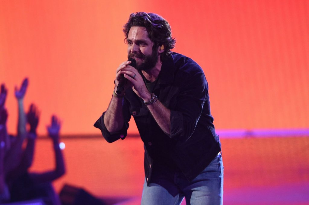 Country Music: Thomas Rhett Recruits Reba and Keith Urban for 'Be a Light'