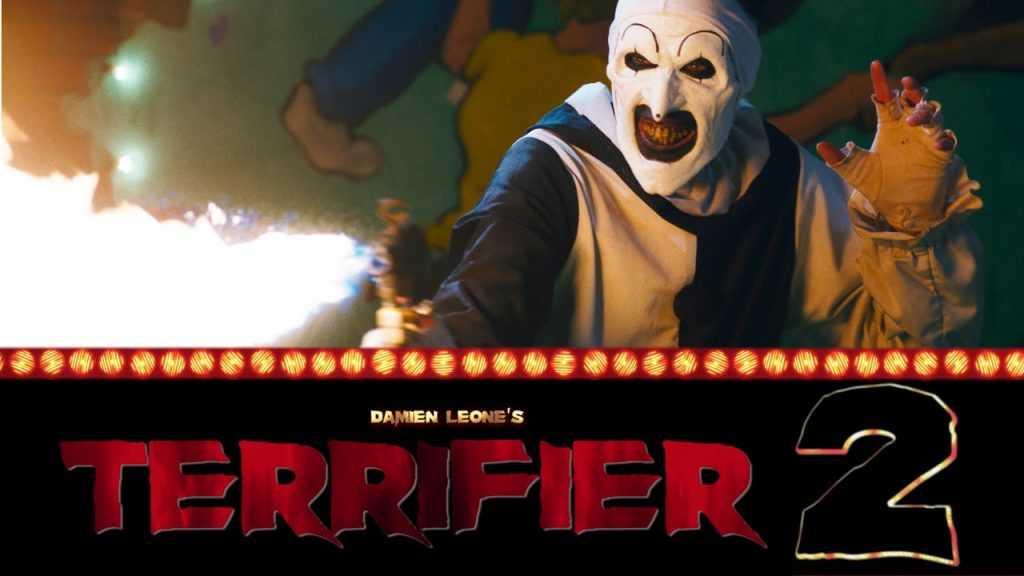 Art the Clown is Back in the Trailer for Horror Sequel 'Terrifier 2'