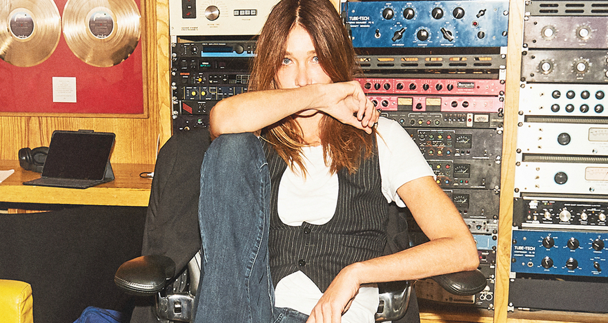 Carla Bruni Returns With 'Quelque chose' ('Something')