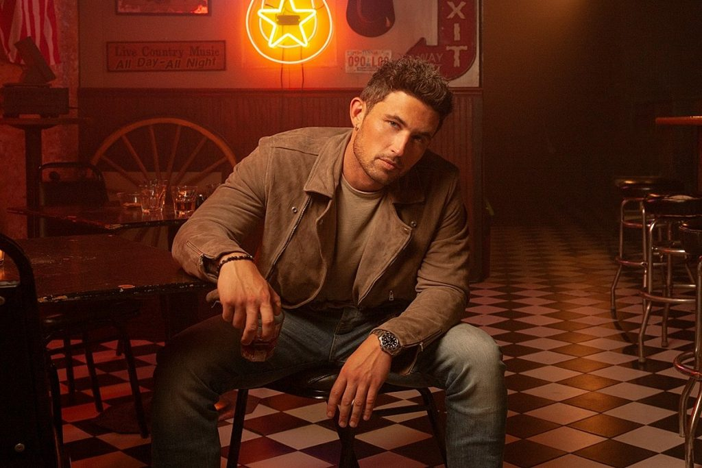 Michael Ray Returns With Nineties Inspired Country Jam 'Whiskey and Rain'