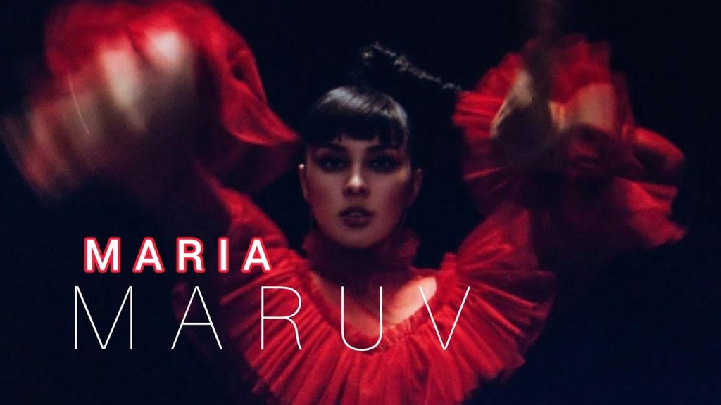 Ukrainian Pop Goddess MARUV Releases Gothic Latin Flavoured New Single 'Maria'