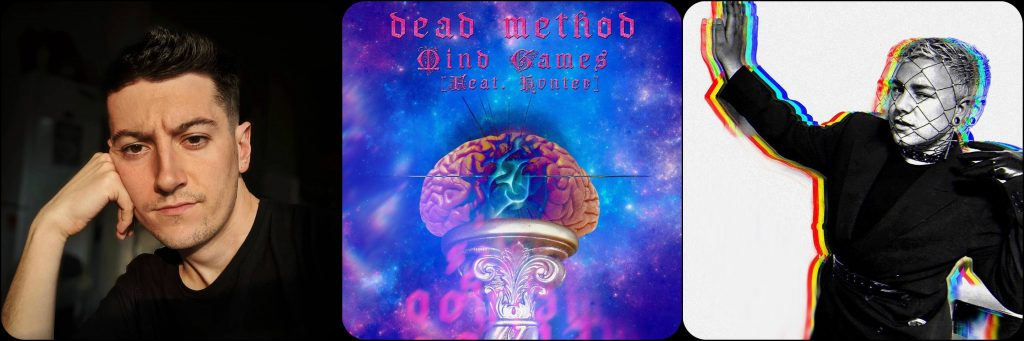 Rising Queer Talents HVNTER & Dead Method Collaborate on 'Mind Games' From 'Queer Genesis' LP