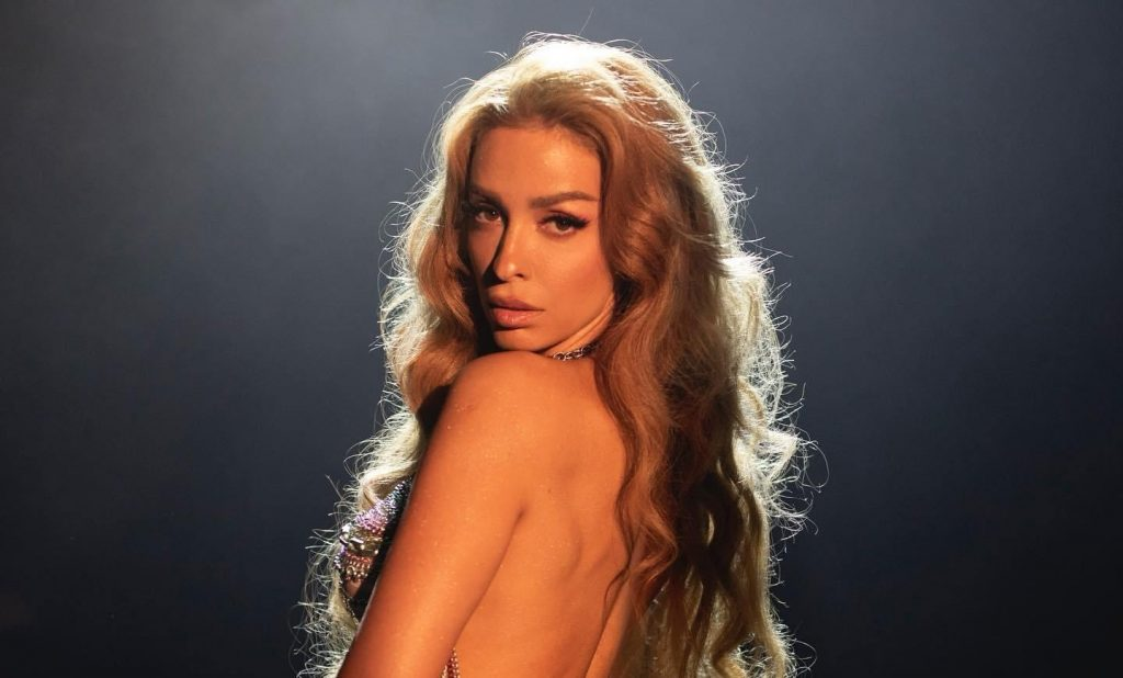 Greek Goddess Eleni Foureira Turns Disco Chanteuse on New Single 'Light It Up'