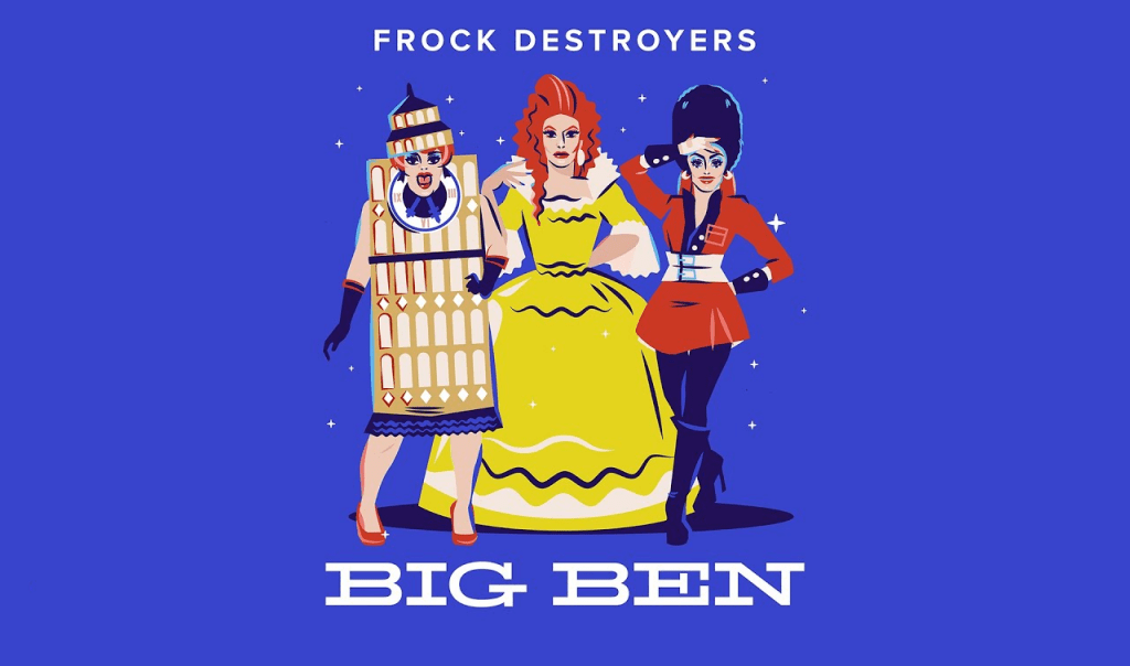The Frock Destroyers Drop Synthpop Anthem 'Big Ben' and Official 'Her Majesty' Video Ahead of Debut Album Release