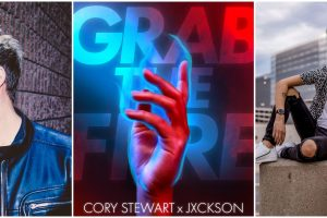 Queer Pop Heroes Cory Stewart and Jxckson Unite On 'Grab the Fire'