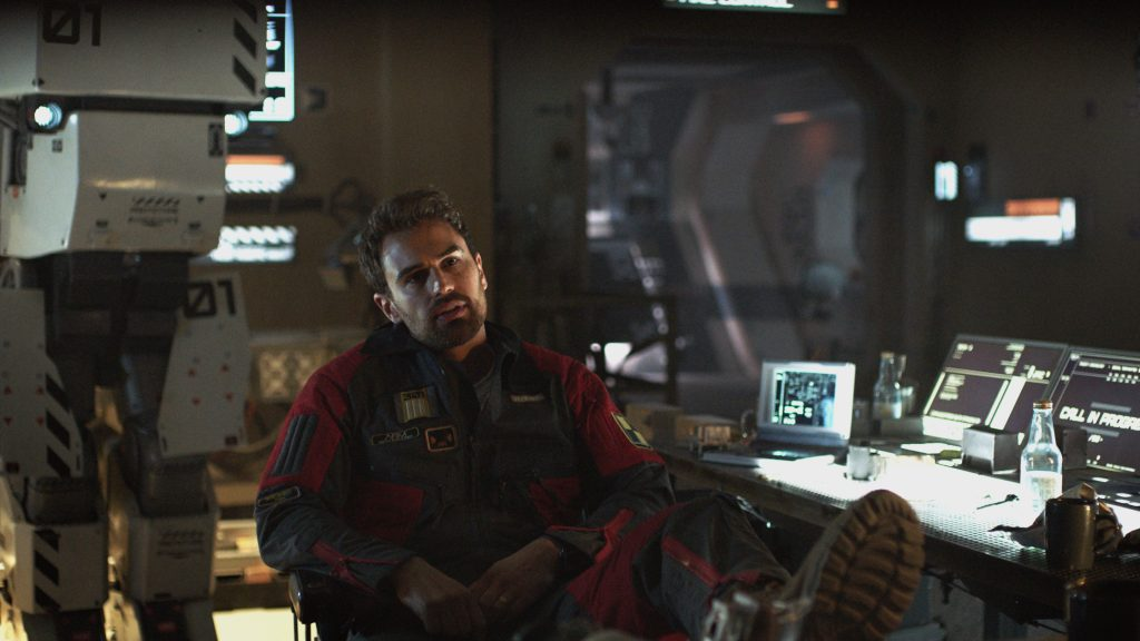 Film Review: Theo James Leads Artificial Intelligence Sci-Fi Drama 'Archive' ★★★
