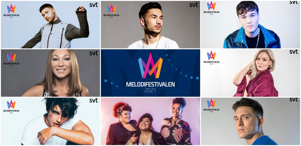 Melodifestivalen 2021 Reveals Semi-Final Line-Ups and Running Order