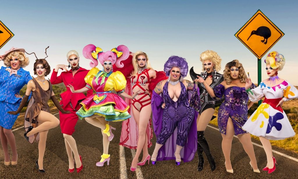 'RuPaul's Drag Race Down Under' Gets a First Look Trailer Ahead of May Debut