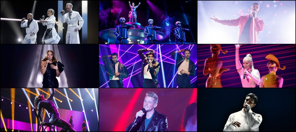 Eurovision 2021: Best Songs of National Final Season