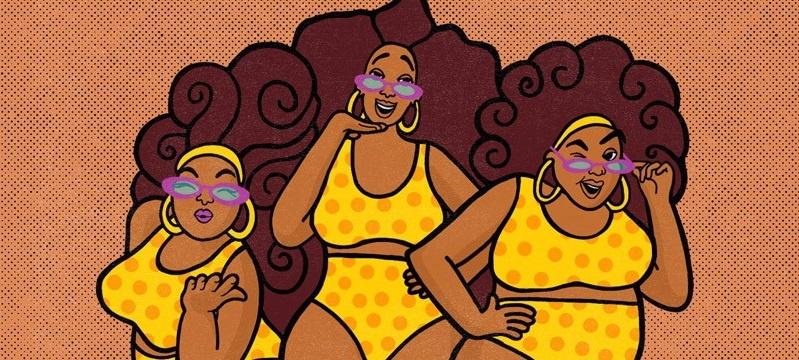 "The Mamas Welcome Us Into Summer With New Twist On ""Itsy Bitsy Teeny Weeny Yellow Polka Dot Bikini"""