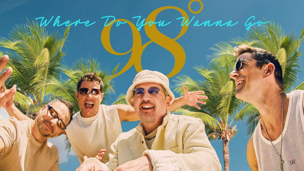 98 Degrees Deliver New Single 'Where Do You Wanna Go' Ahead of Upcoming 'Summer of 98' EP