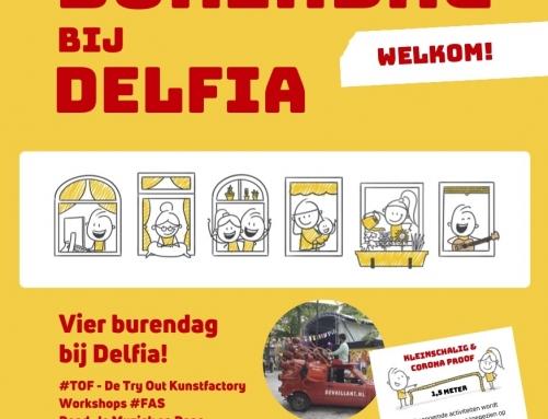 Burendag:  aangepast programma in Delfia