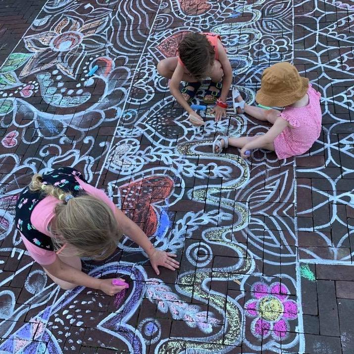 Mandala Street Art