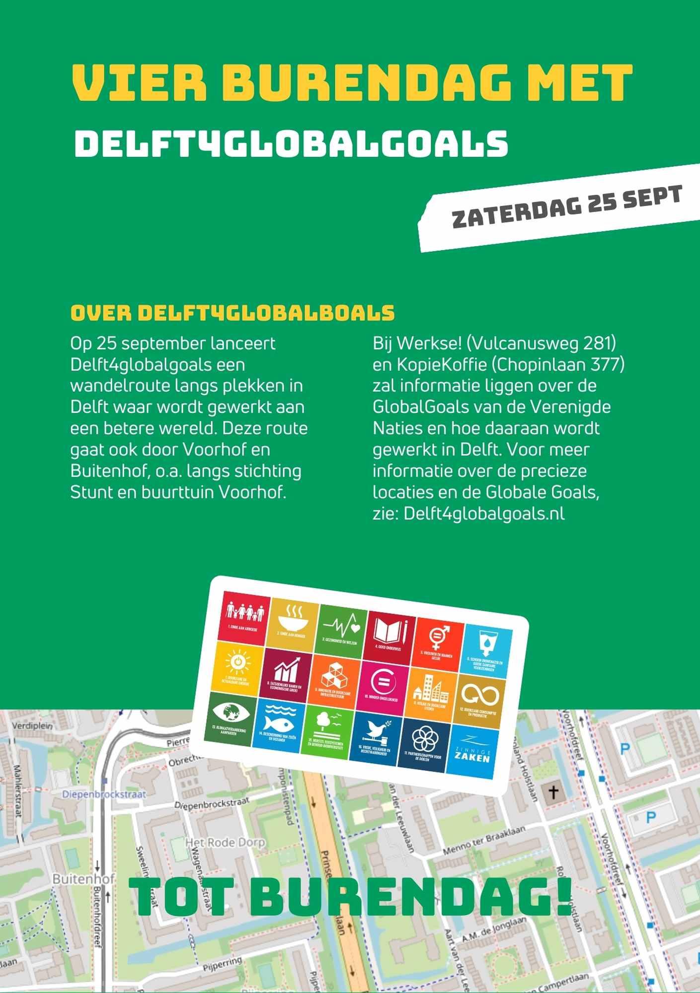 Flyer Delft4GlobalGoals