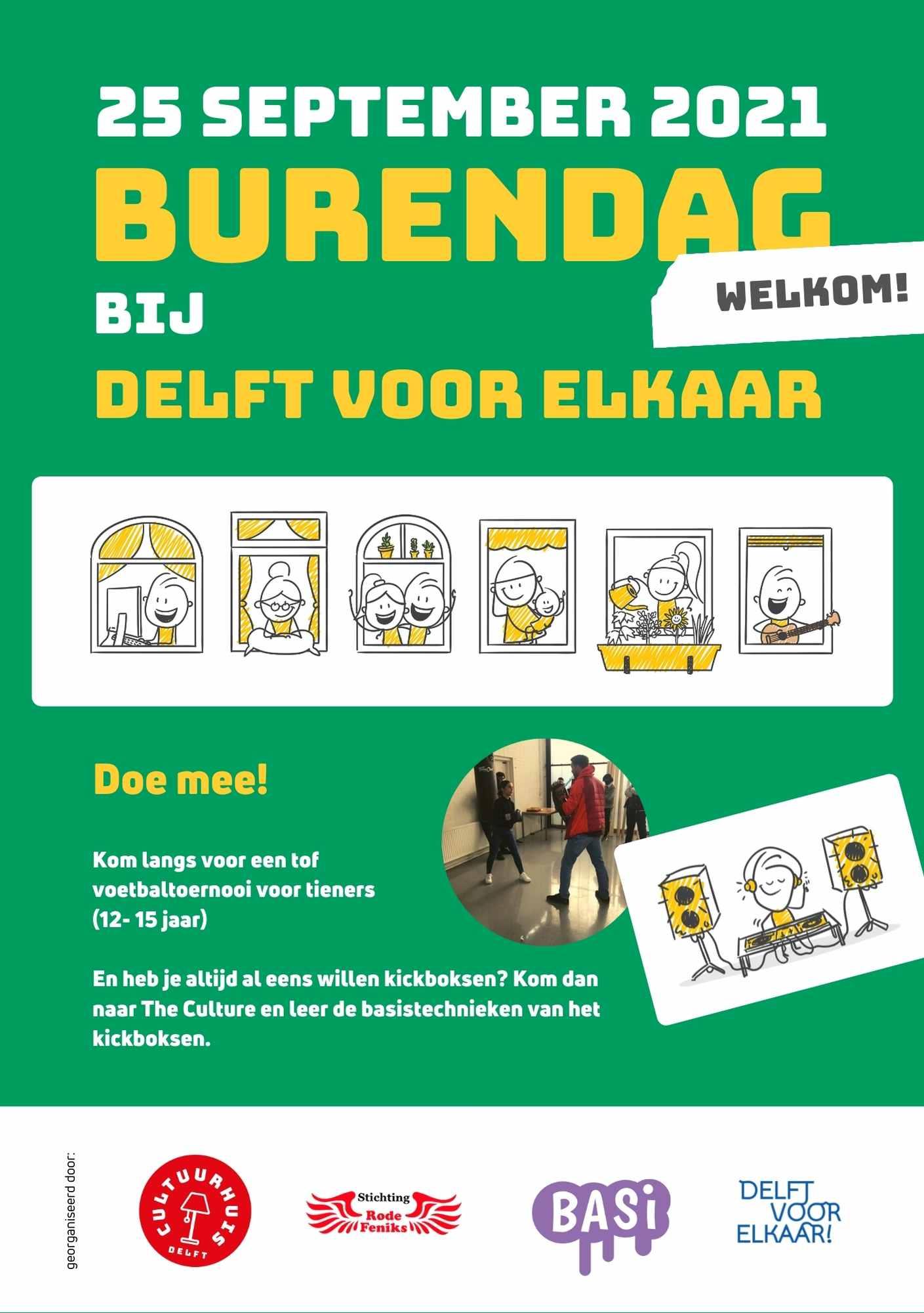 Flyer Delft voor Elkaar