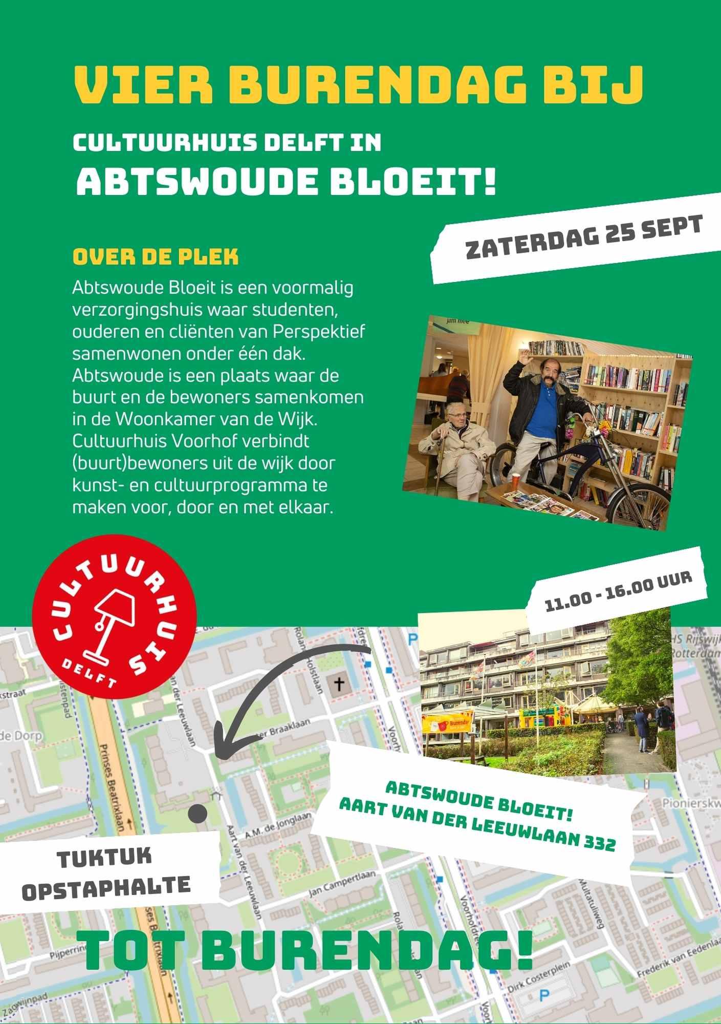 Flyer Abtswoude Bloeit