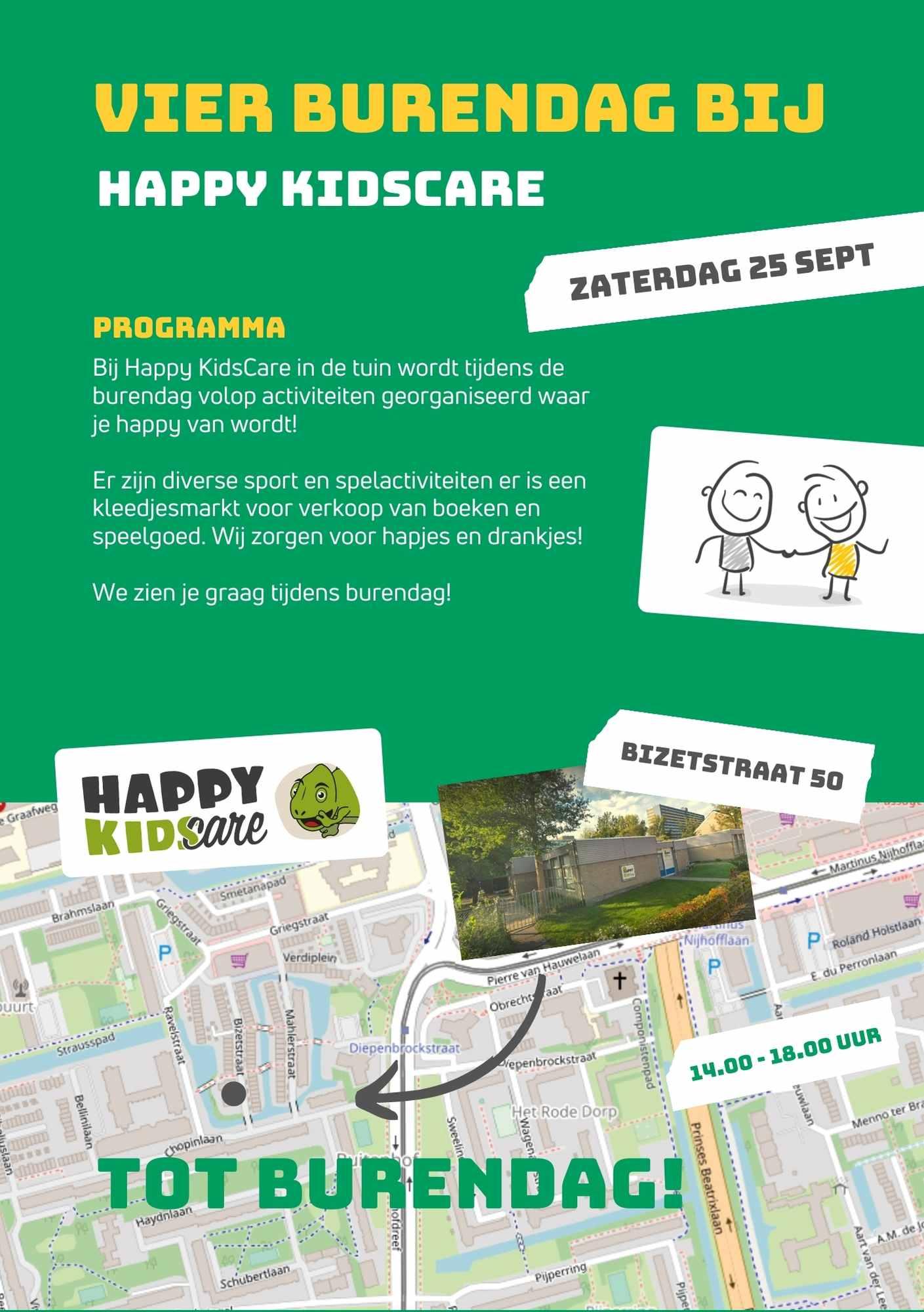 Flyer Happy KidsCare