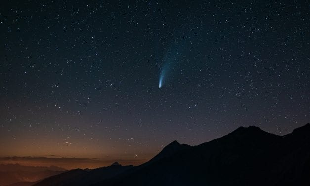 Look To The Skies To Catch A Falling Star