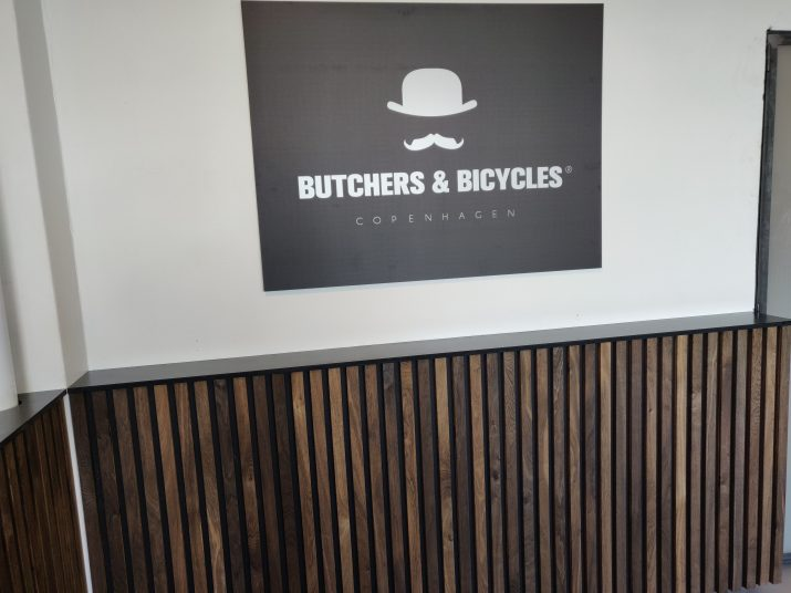 Butchers and Bicycles indretning