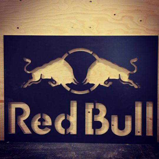RedBull skilt