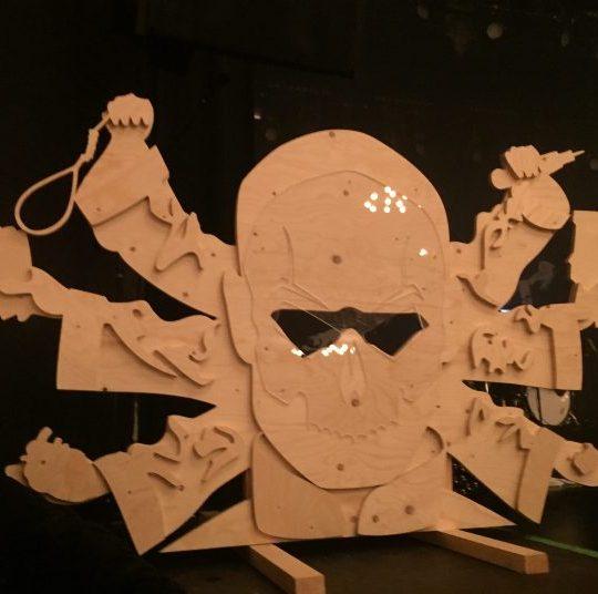 MC Clemens scenografi