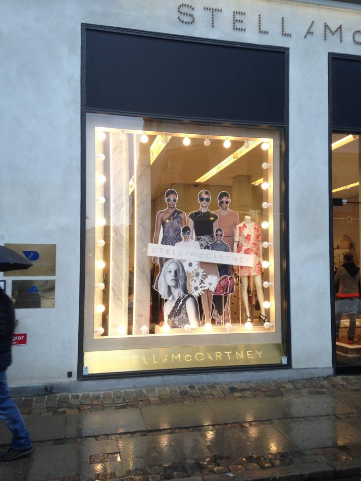 Stella Mccartney butiksindretning