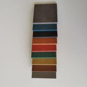 Forescolor farveprøve