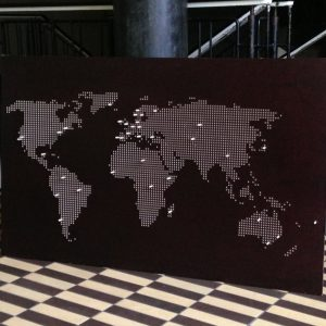 PYW verdenskort
