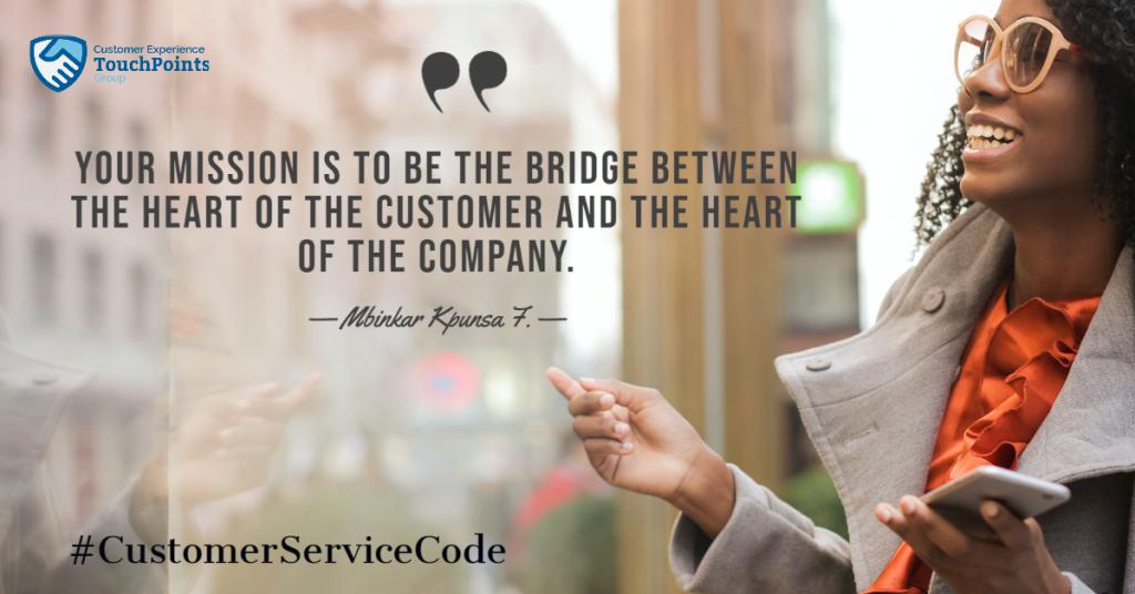 customer service code of conduct