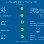 customer service week core goals
