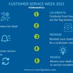 Customer service week 2021 - goals