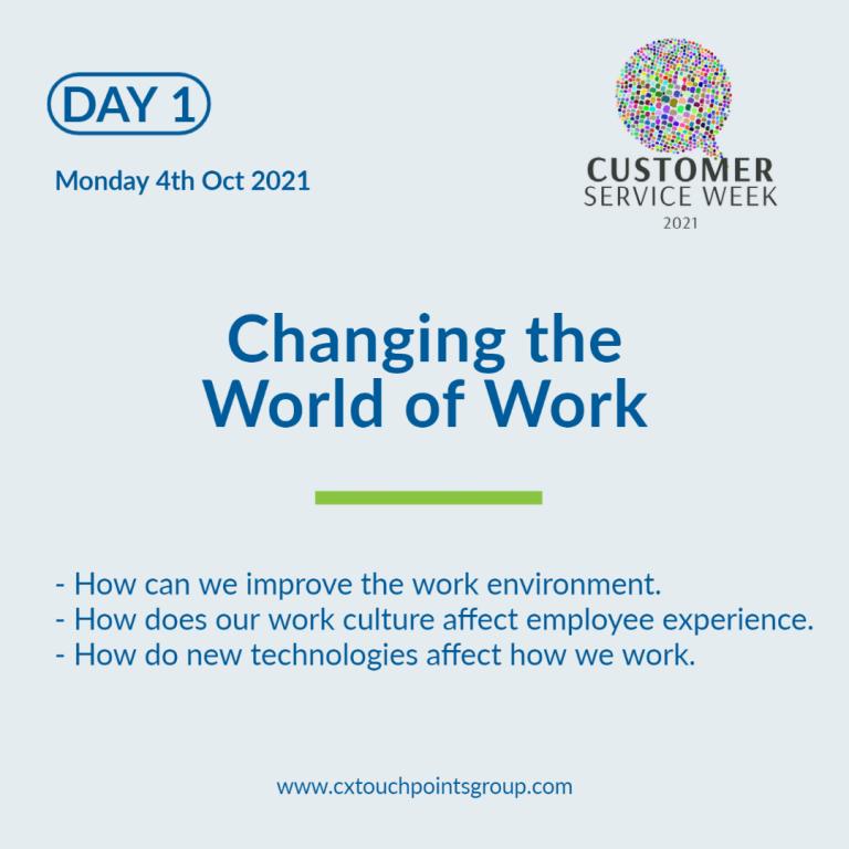 Customer Service Week Day 1