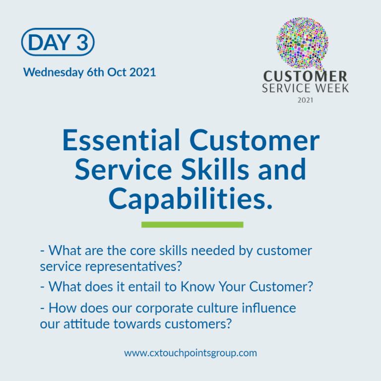 Customer service week 2021 - day 3
