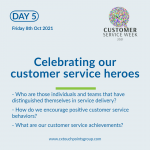 Customer service week 2021 - day 5