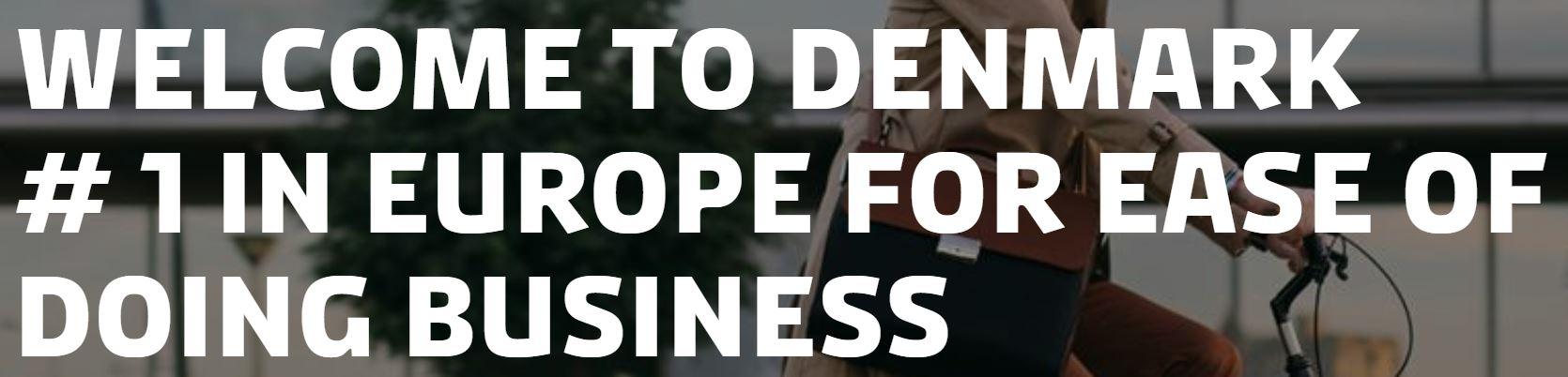 Bilelde fra udenrigsministeriet om Invest in Denmark