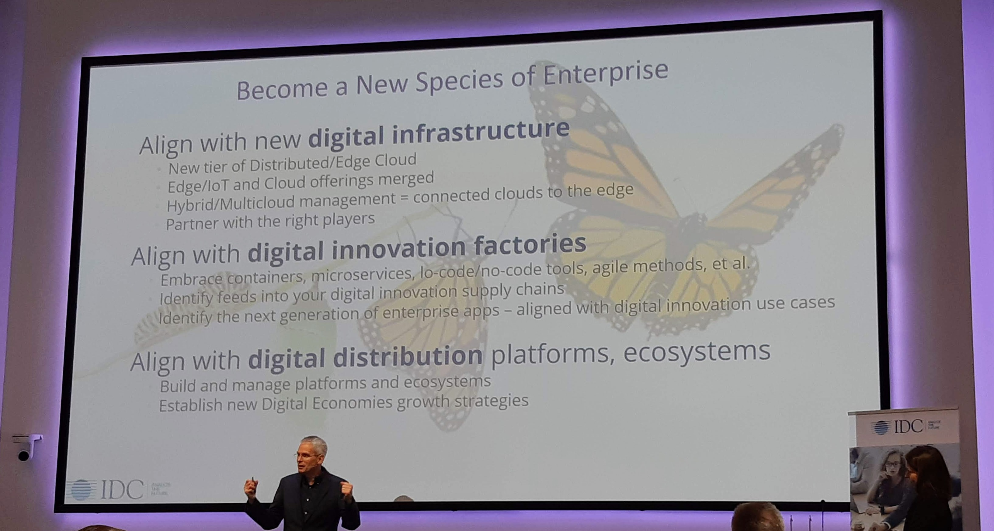 Digital first økonomi at IDC CxO Directions 2020