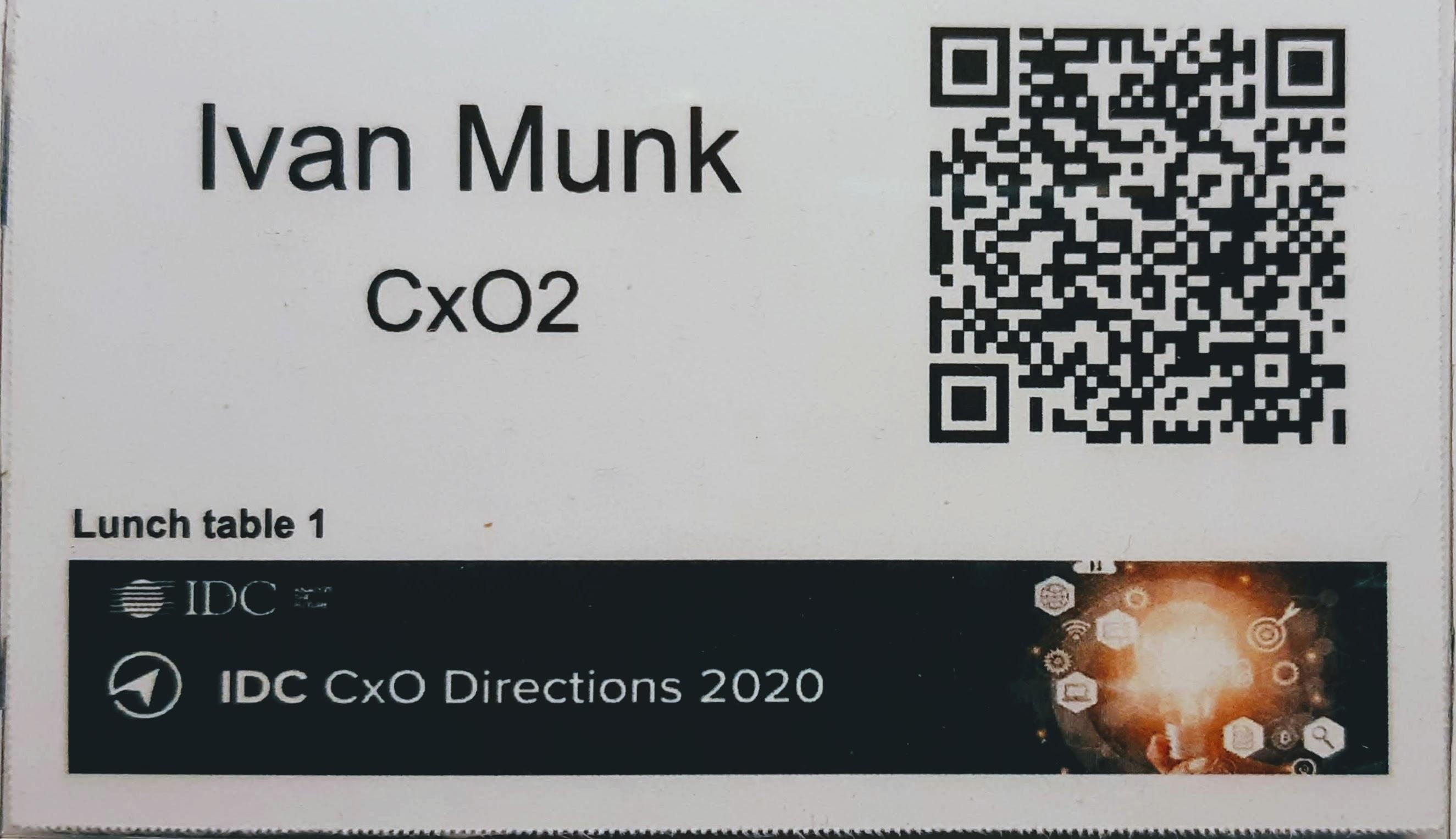 IDC CxO badge vejen til digital-first og innovation