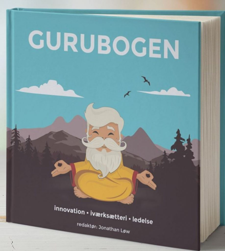Billede af Gurubogen fra forfatterens egen hjemmeside