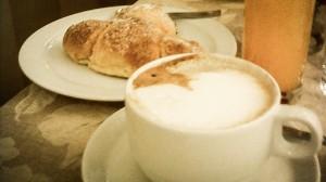 frukost i Italien, cykelaptit