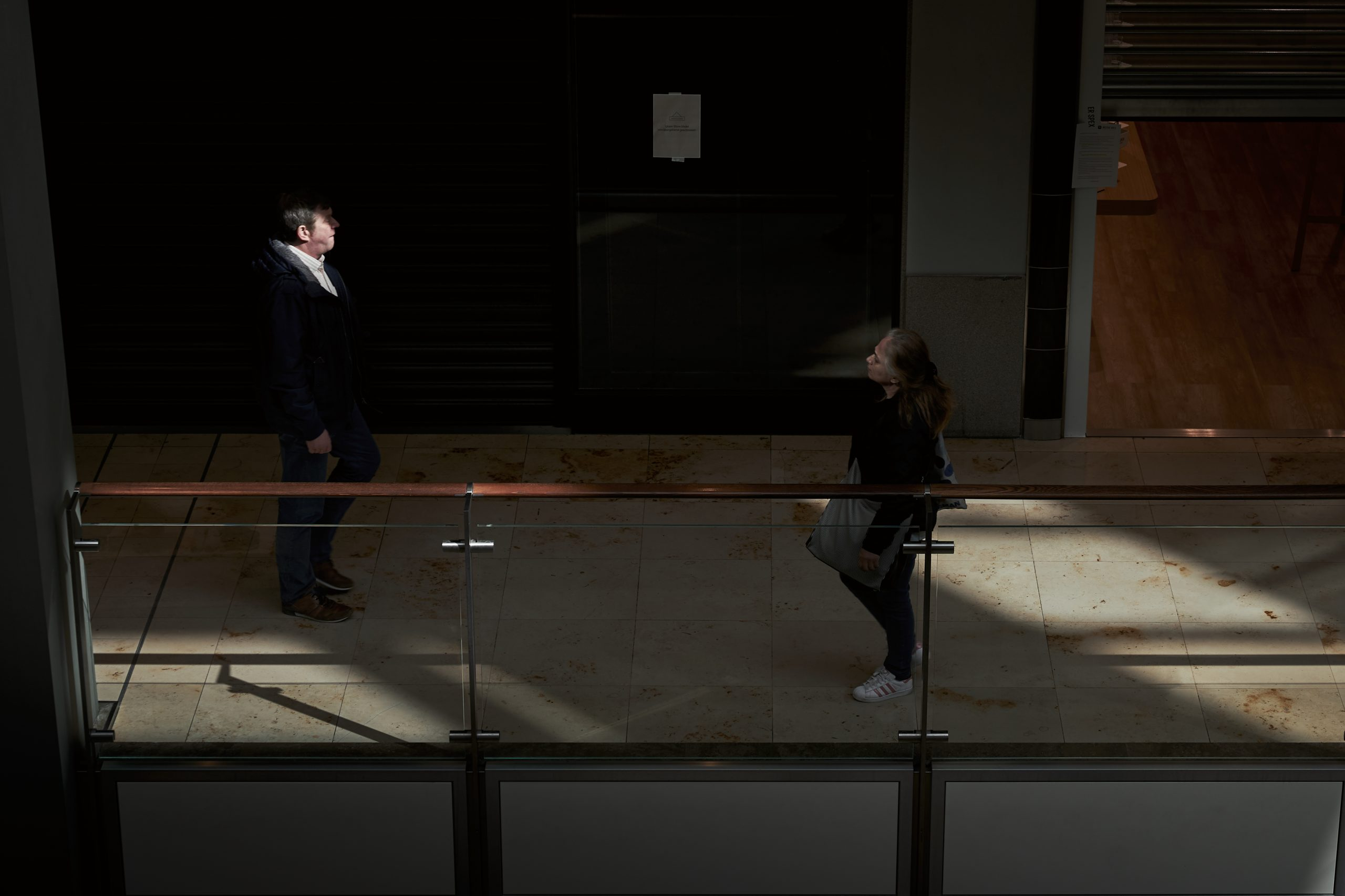 Cynthia Ruf Photography Fotografie Street Lockdown Kontrast